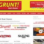 Grunt Boat Cleaner