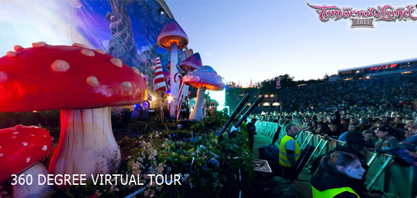 360 Degree Virtual Tour of Tomorrowland 2011